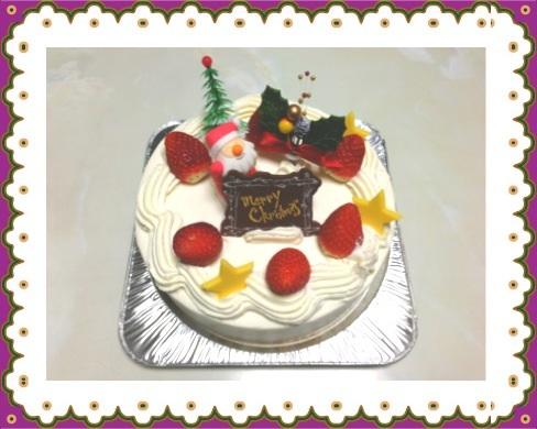 ウインドミルのクリスマスケーキ
