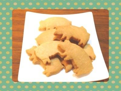 ブタさんクッキー