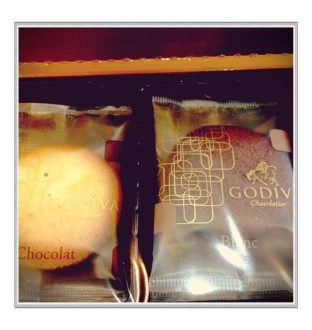 GODIVAのクッキー