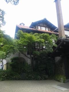 山崎山荘外観