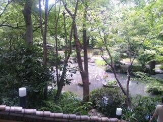 山崎山荘庭