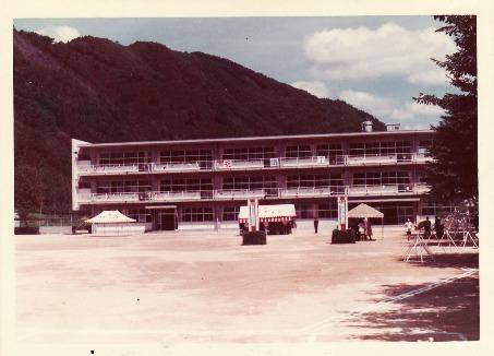 東第一小学校 昭和49年
