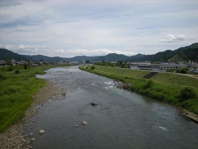 6-4古川を流れる・・・