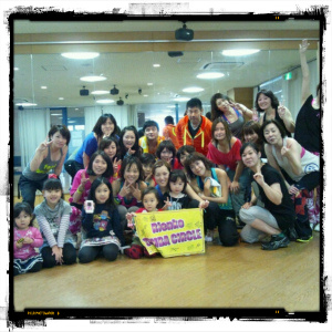 sunday zumba NOV