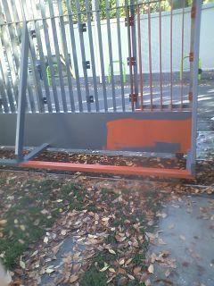 フェンス塗装2