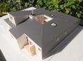 大郷町の家模型1:50-2