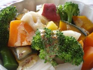 温野菜のごちそうサラダ