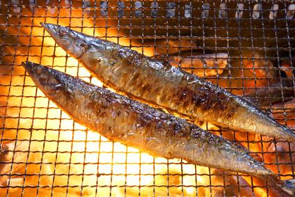秋刀魚焼きのコピー