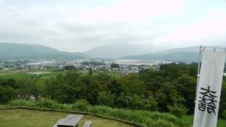 笹尾山からの景色。