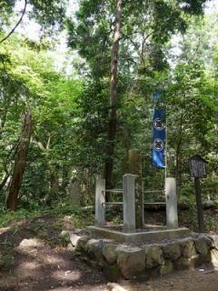大谷さんの陣跡。