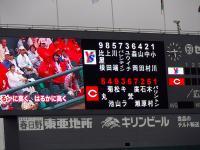 13.8.24 今日のスタメン