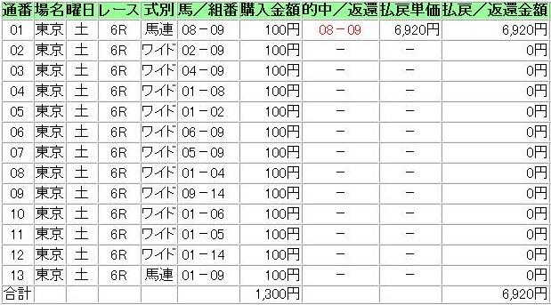 20121124東京6R