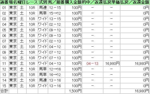 20121124東京10R
