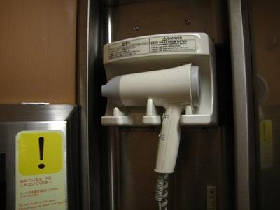 2012_1102_011320-IMG_9850 サンライズシャワー室ドライヤー