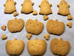 お化けちゃんクッキー