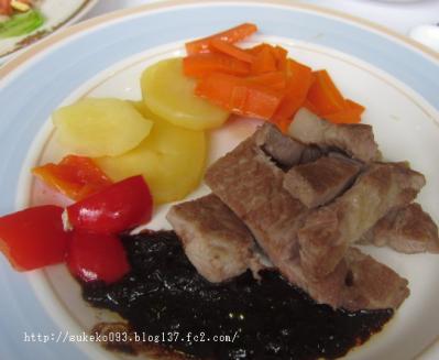 豚肉のソテー 豆鼓ソース