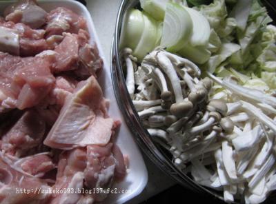鶏もも肉ときのこたっぷり野菜