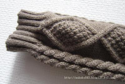 しっかりした編みです。