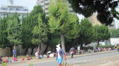この行列が長い公園ぐるぐるまき!!