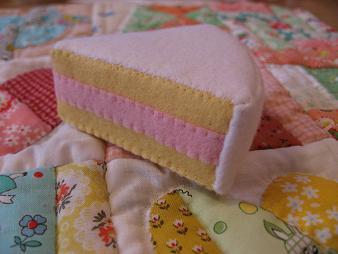 型紙作りケーキ3
