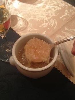 ふかひれのスープ。