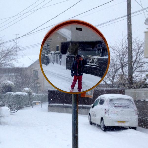 茅ヶ崎雪景色140208e