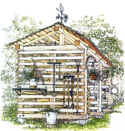 木小屋800x600