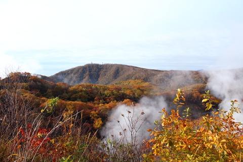 2012.10,30登別温泉の紅葉003