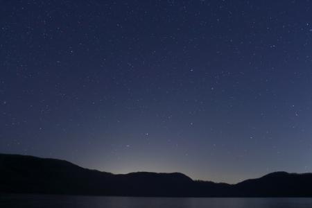 2012.11.15倶多楽湖の星4