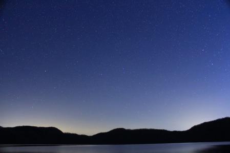 2012.11.15倶多楽湖の星3