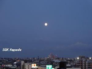 2012-08-31 ブルームーン 夕刻