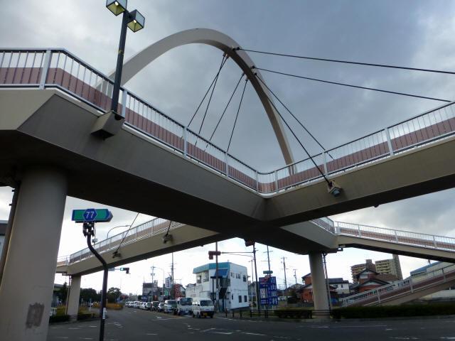 芋島歩道橋7
