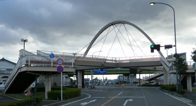 芋島歩道橋8