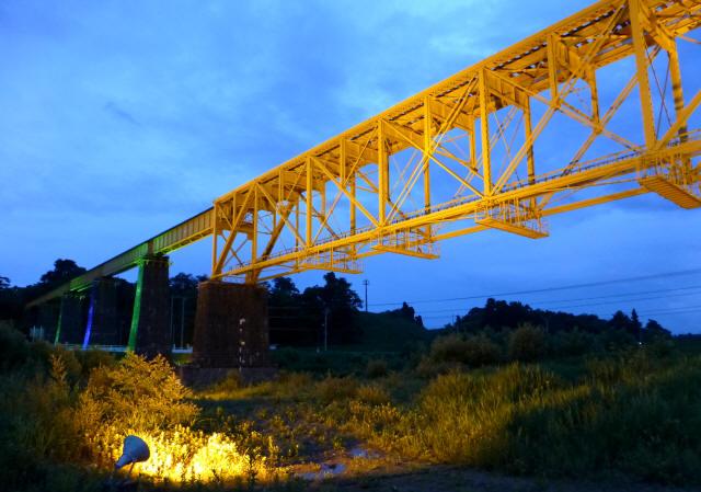 一の戸川橋梁8