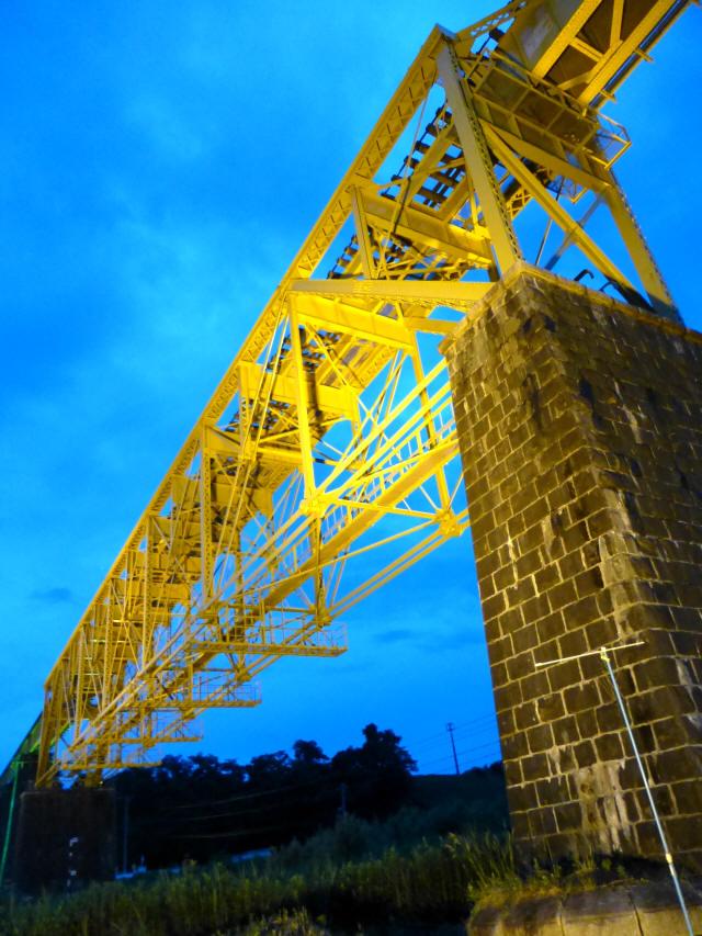一の戸川橋梁9