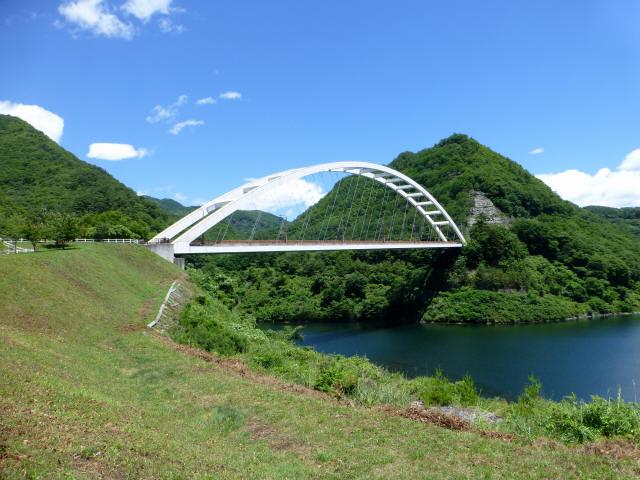 鹿鳴峡大橋1
