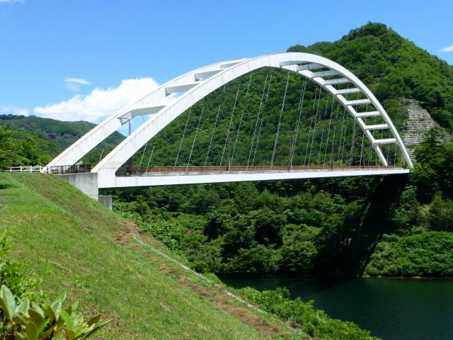 鹿鳴峡大橋2