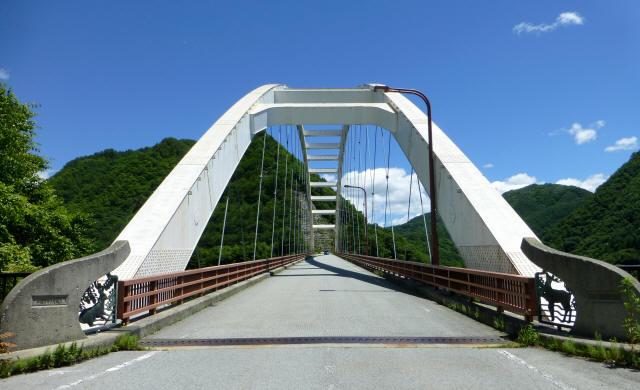 鹿鳴峡大橋4