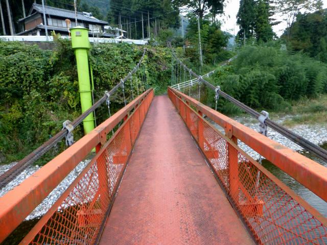 樽見の吊橋7