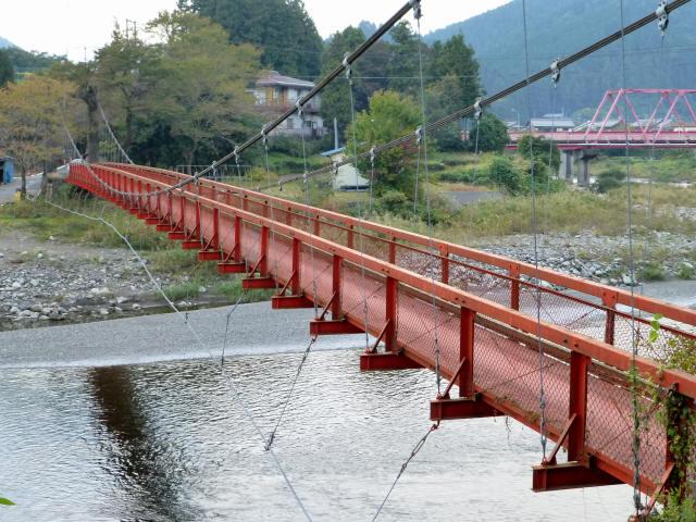 樽見の吊橋6