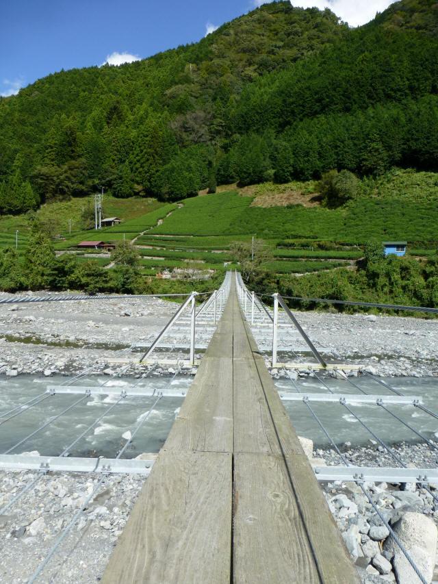 入島の吊橋16