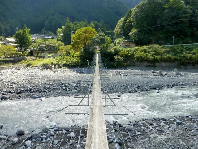 入島の吊橋17