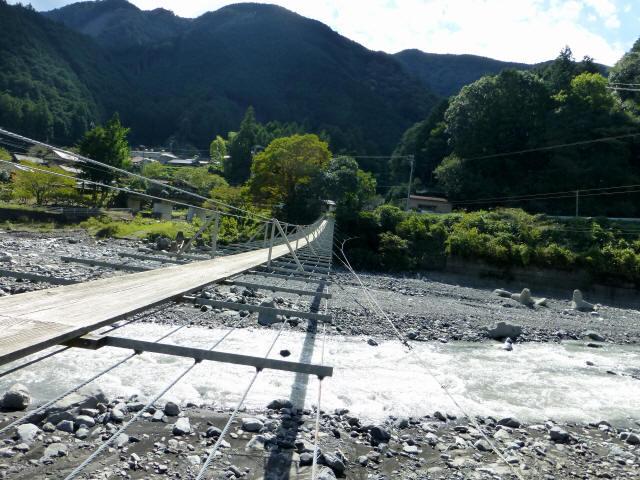入島の吊橋18