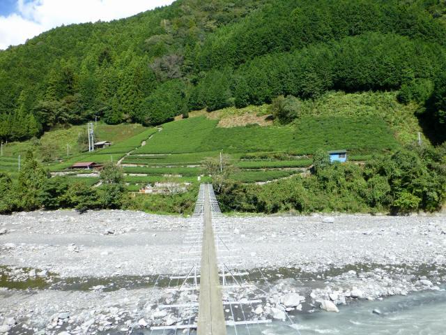 入島の吊橋19