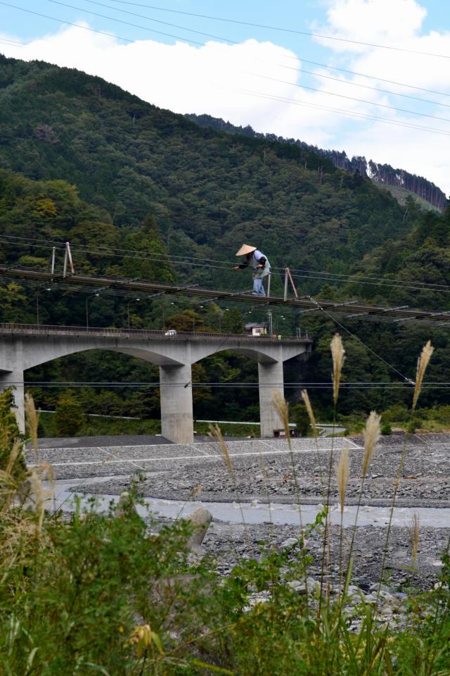 入島の吊橋20