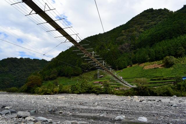 入島の吊橋22