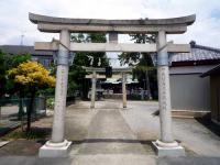 大曽根八幡神社一の鳥居