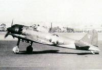 1944年、テスト飛行中の61-120号機