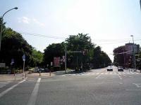 北浦和公園入口と埼大通り