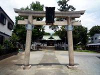 大曽根八幡神社二の鳥居